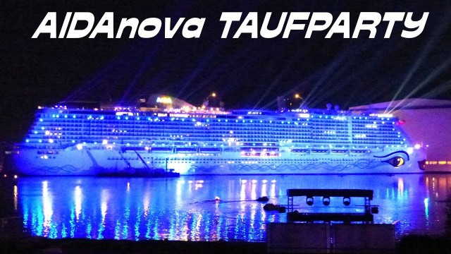 AIDANova float out party – Iona clone?