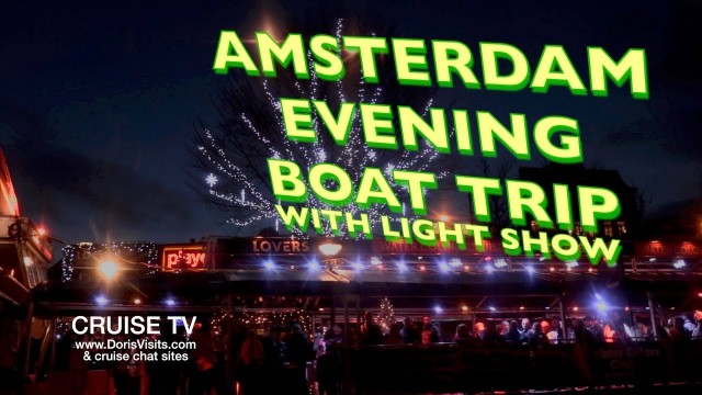 Amsterdam Evening Boat Trip with Light Show