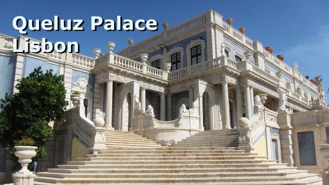 Royal Palace of Queluz, easy trip from the port of Lisbon. 'Great Film' (P&O Ventura)