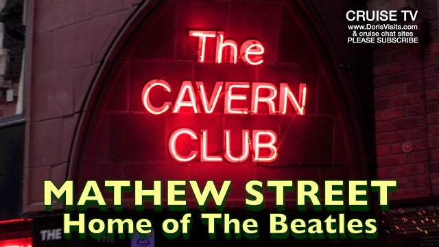 Liverpool, The Beatles, The Cavern in Mathew Street
