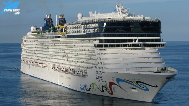 Norwegian Epic – a huge ship with a huge waterslide