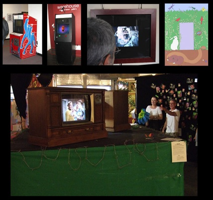 Image layout of some of Philip Kohn's video works