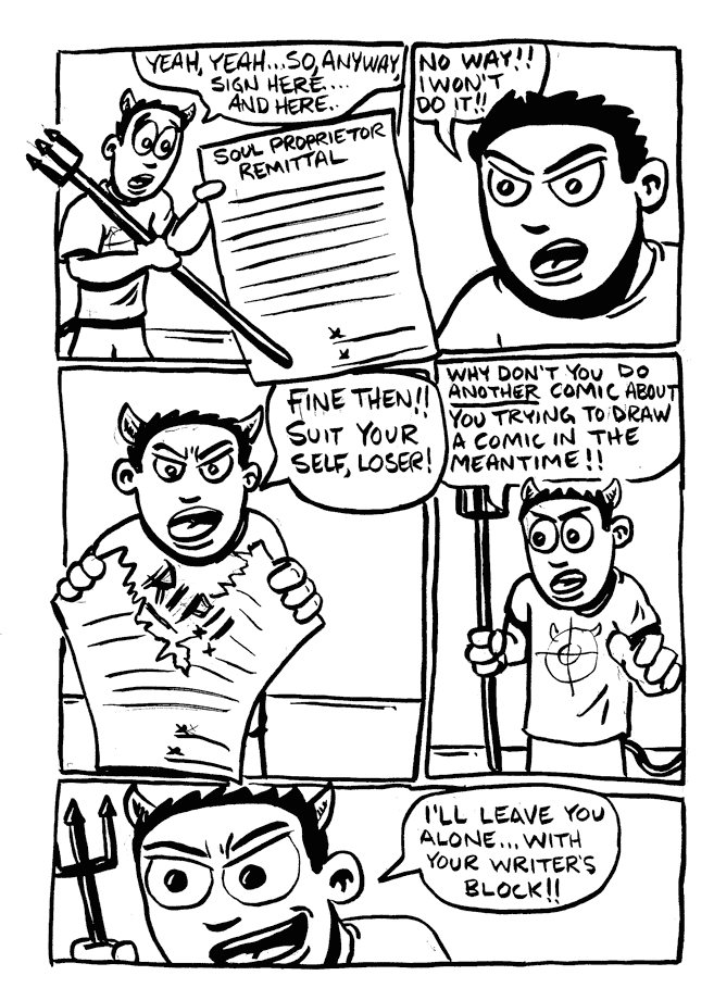 a day in the life… (24 hr comic) p.7