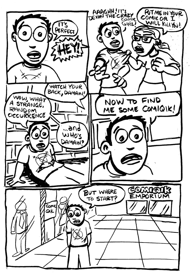a day in the life… (24 hr comic) p.11