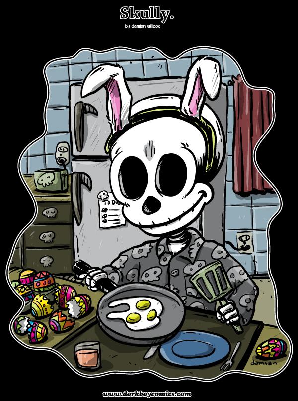 Skully – Easter Eggs