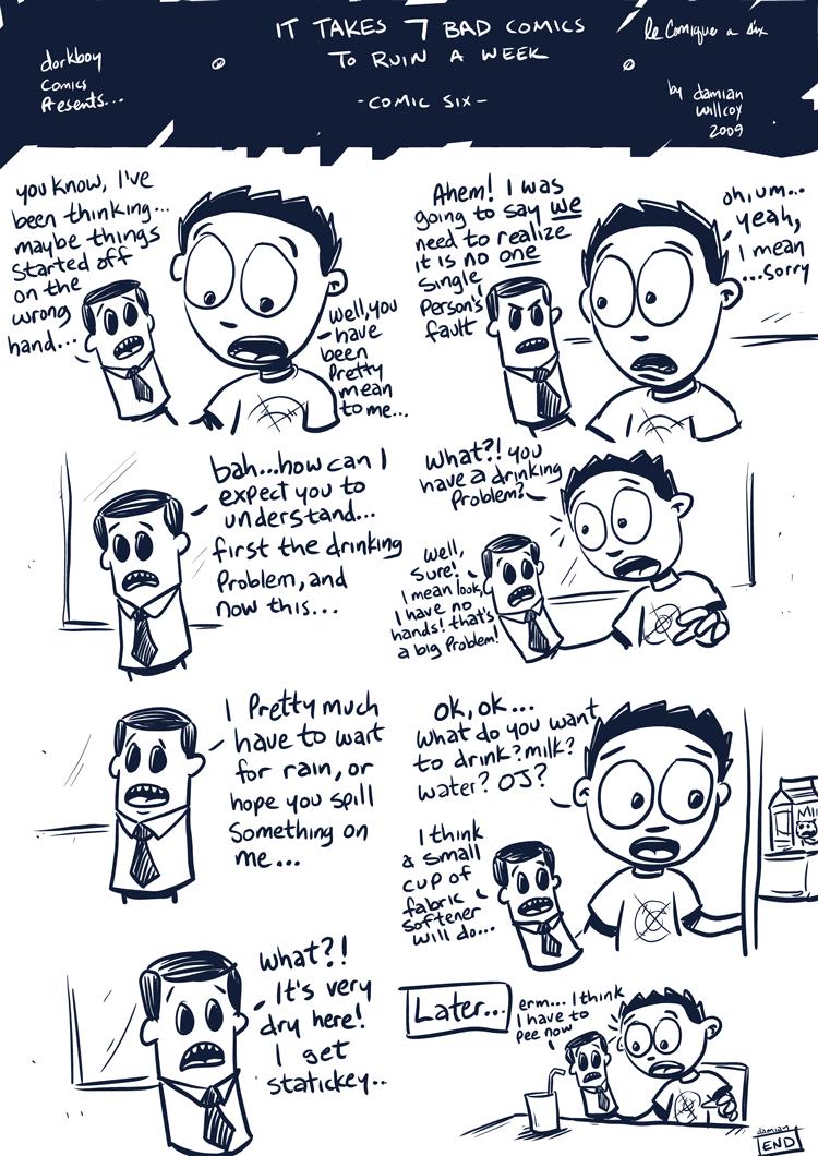 7 bad comics to ruin a week – #6