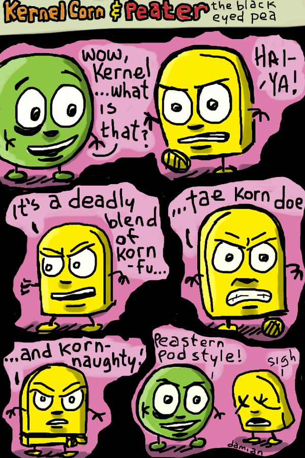 Kernel Corn mini comic #1
