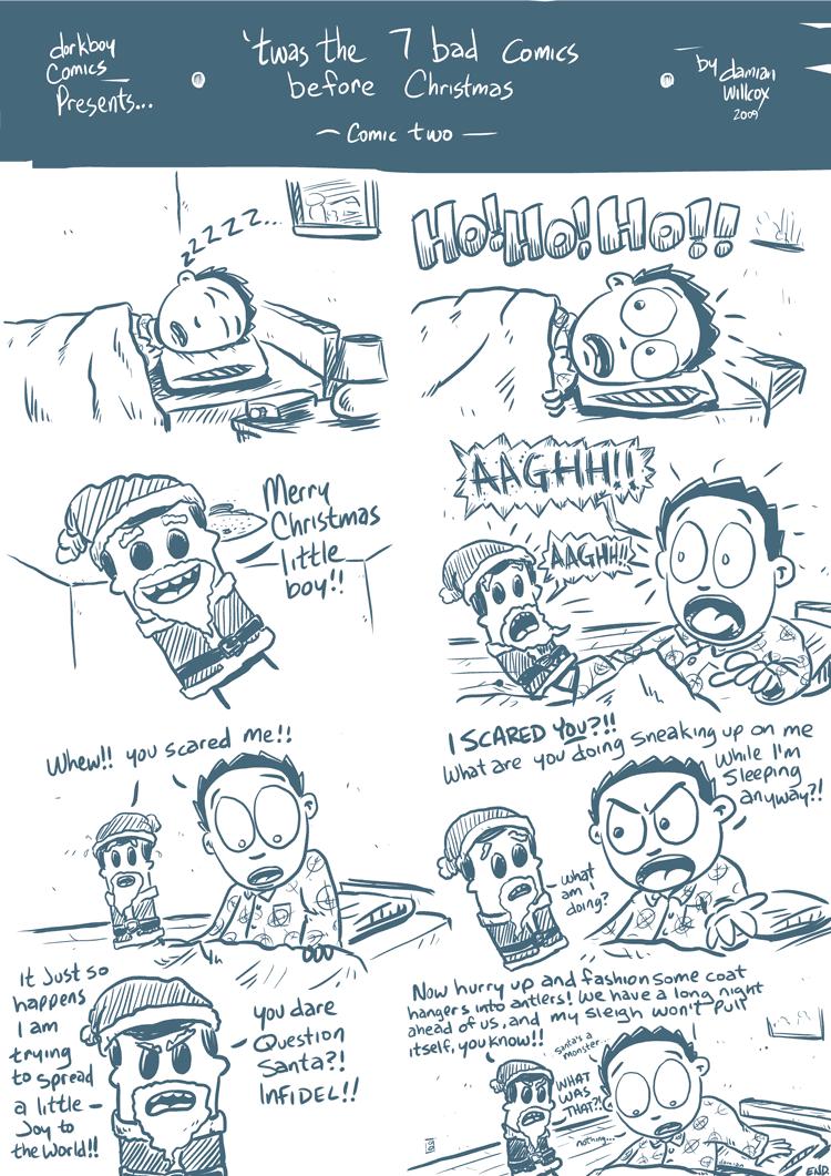 twas the 7 bad comics before Christmas -2