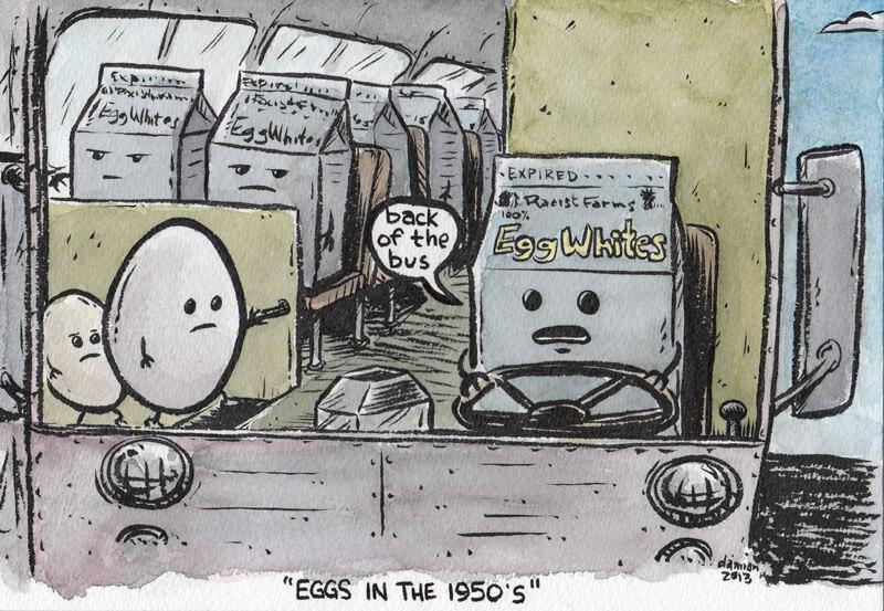 Historical all(egg)ory