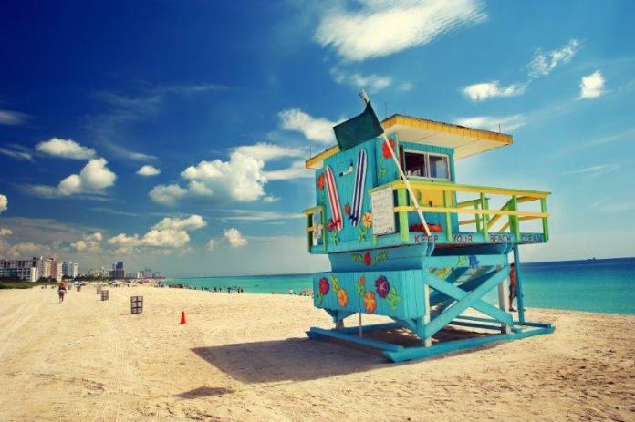 Florida Miami sunny beaches