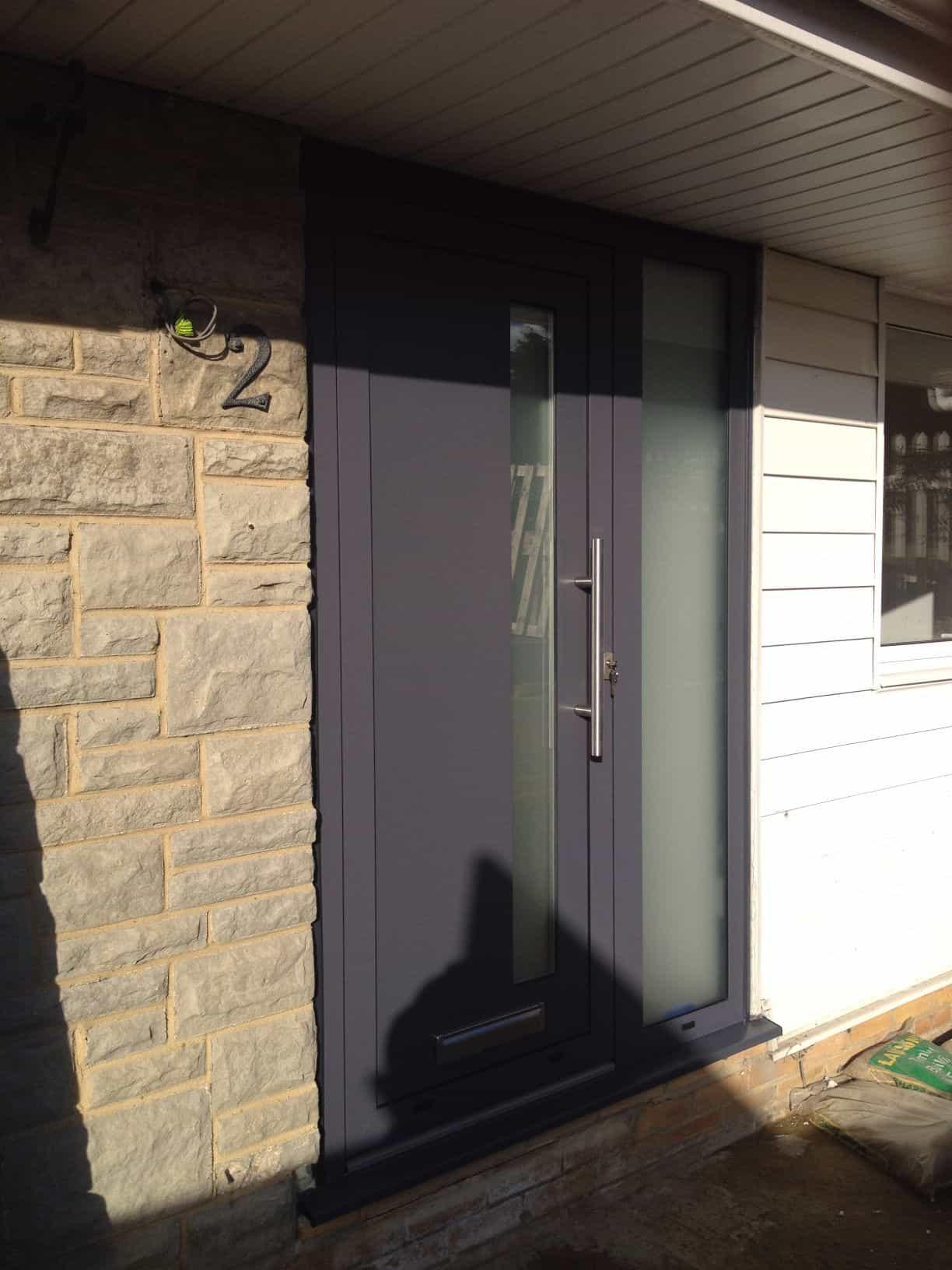 Aluminium Doors Front Door Double Doors Sliding