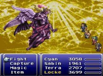 Final Fantasy VI (III) - Kefka Boss Battle