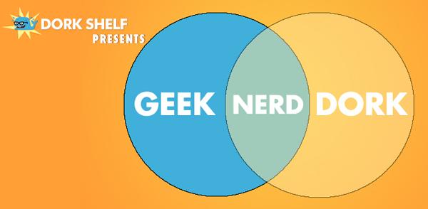 Dork Shelf Presents GeekNerdDork