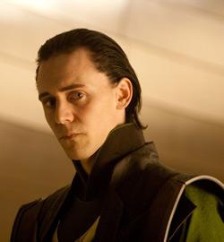 Thor - Tom Hiddleston as Loki