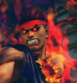 Super Street Fighter IV Arcade Edition - Evil Ryu thumbnail