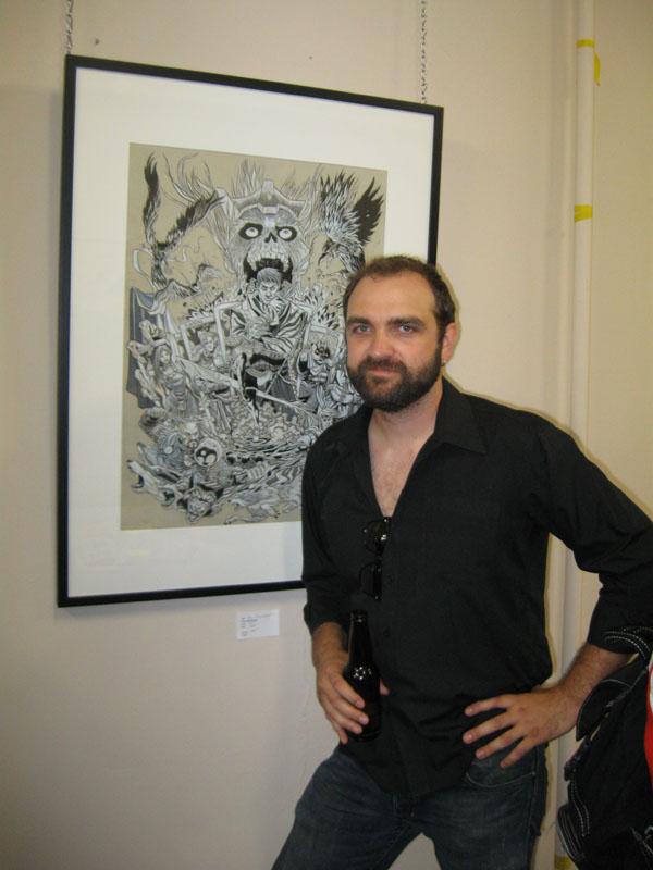 Artist Andy Belanger