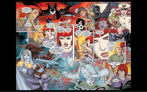 Batwoman interior page