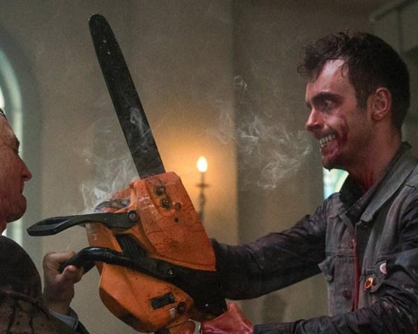 Preacher Chainsaw Fight