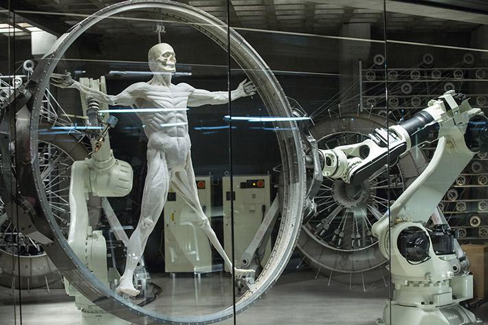 Westworld 3D printed hosts