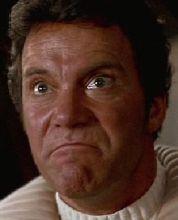 "Kirk just before he yells ""Khan!"""