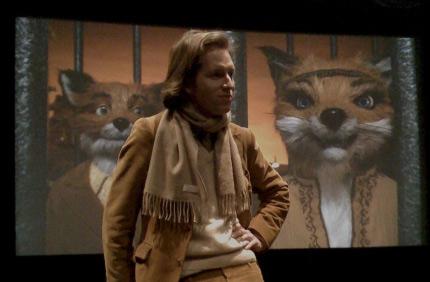 Wes Anderson editing Fantastic Mr. Fox