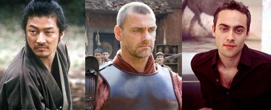 Thor's three new allies: Tadanobu Asano, Ray Stevenson and Stuart Townsend