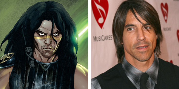 Anthony Kiedis as Quinlan Vos