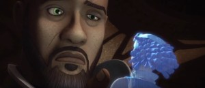 Saw and Steela Gerrera from Ghosts of Geonosis