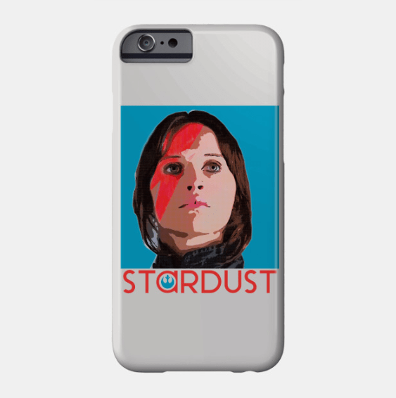 Jyn Erso Stardust iPhone Case