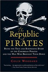 Cover of Republic of Pirates showing a skull and crossbones