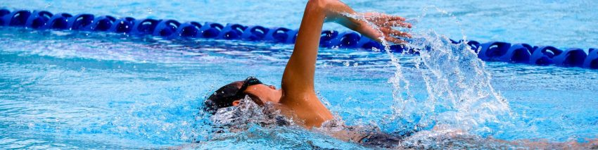 swimmer shown for olympics trivia header