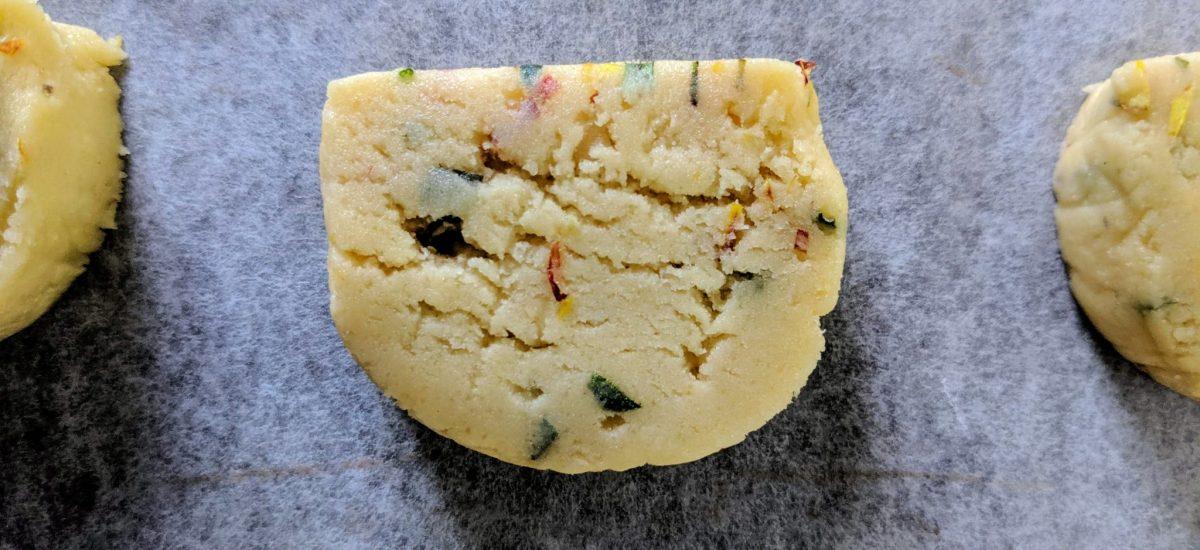 Herby Shortbread Cookies
