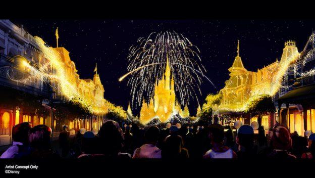 Disney new nighttime spectacular, Disney Enchantment