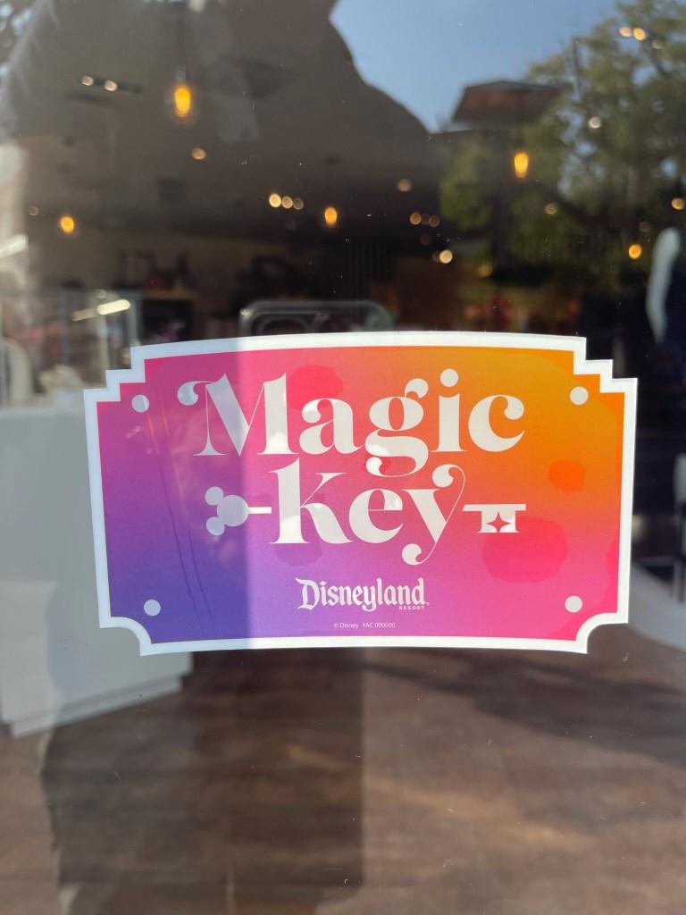 disney magic key arrives at disneyland