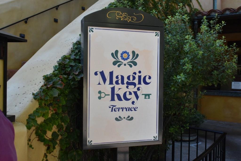 magic key terrace entrance