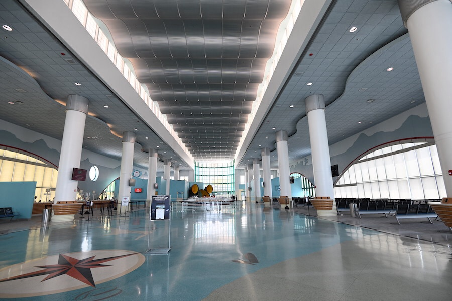 disney cruise line new port terminal