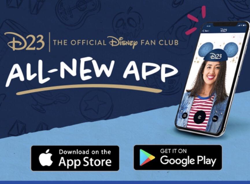 all new d23 app