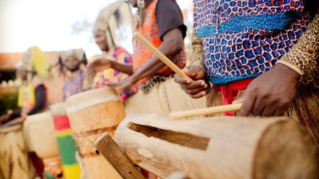 tam tam drummers of disney's animal kingdom