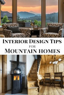 Interior Design Tips Mountain Homes