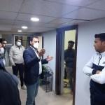 زيارة ميدانية  للسيد مدير قسم شؤون الاقسام الداخلية  في جامعة كربلاء