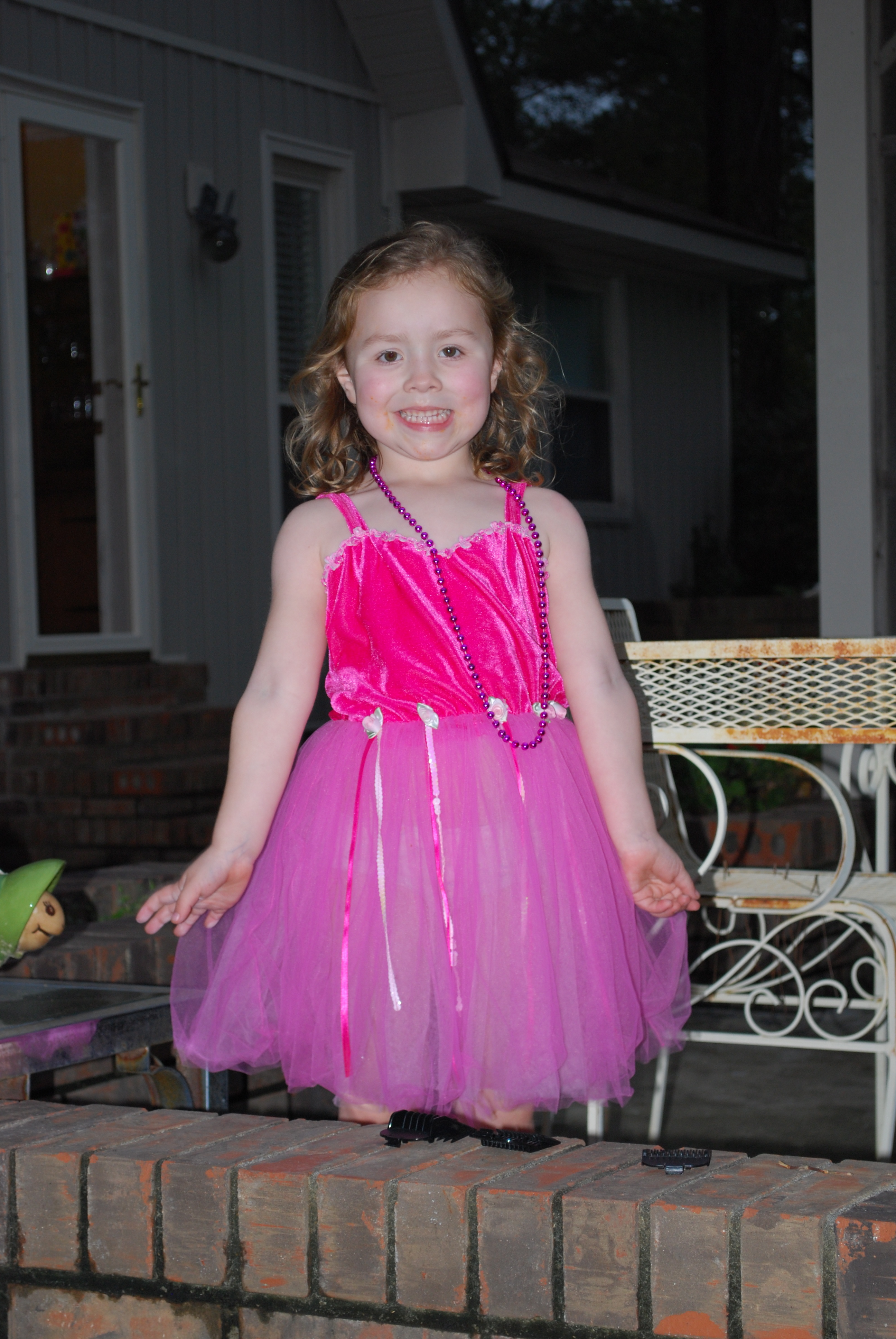 Ruby in the fairy dress