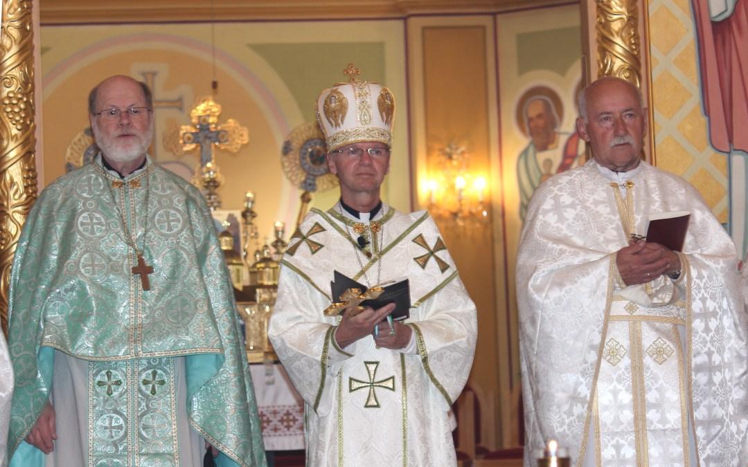 Celebration of Bishop David's Name Day: Nov 3, 2019