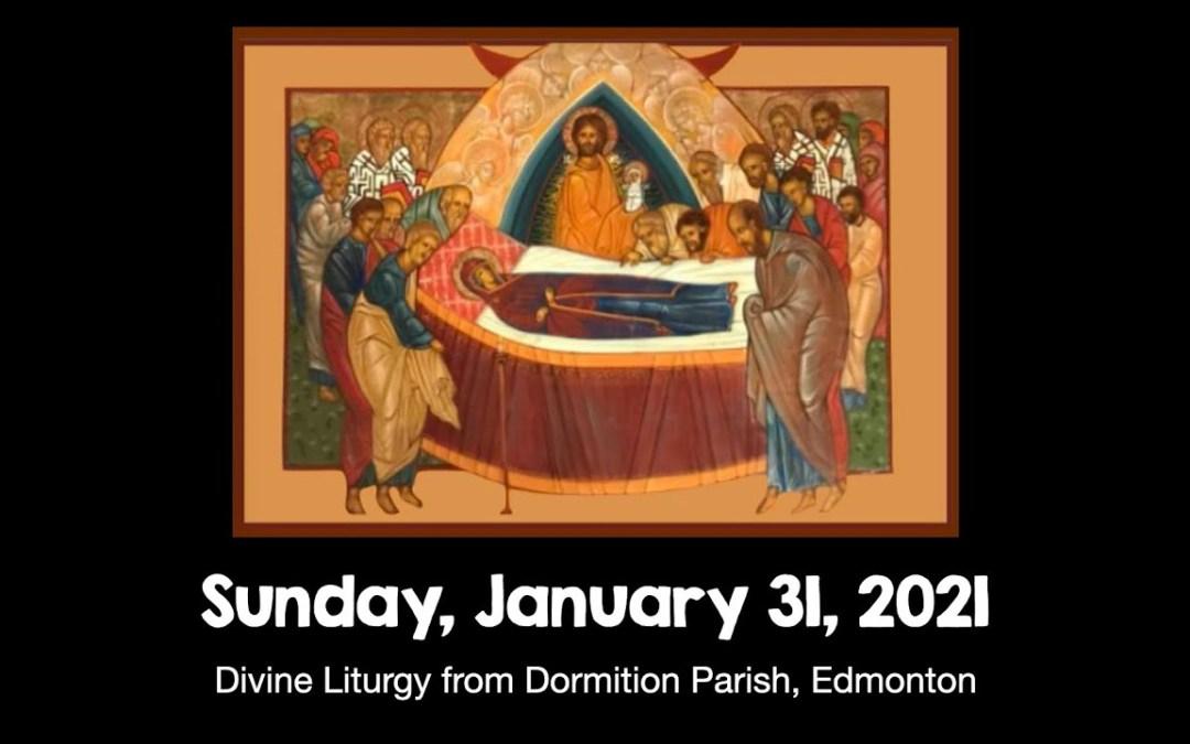 Divine Liturgy January 31