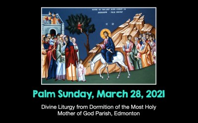 DL for Palm Sunday March 28