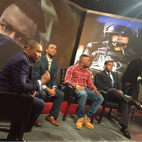 """Magik 200 at BET Networks as a panelist for the special """"Baltimore Speaks."""""""