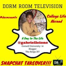 """Dorm Room Television """"A Day In The Life"""" Snapchat Takeover"""