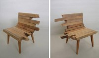 Broken Bench Chairs: Unique Furniture or Clever Art?
