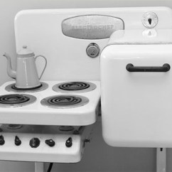 Vintage Kitchen Stoves Artwork Ideas Electrochef All In One Appliance Set