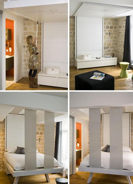 Hanging Hideaway Loft Bed Design Designs Amp Ideas On Dornob