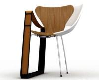Frankenstein Furniture? Wood, Metal & Plastic Chair